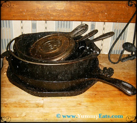 A kitchen isn't complete without a set of cast iron pans!