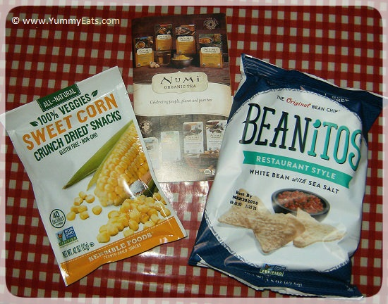 Snacks from the Love With Food Tasting Box December 2015