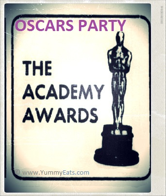 Oscars Academy Awards Home Party Ideas and Decorating Tips