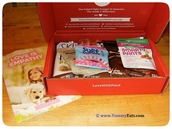 LoveWithFood Subscription Box for May 2016 - Unboxing