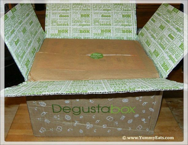 Degustabox surprise food box for August