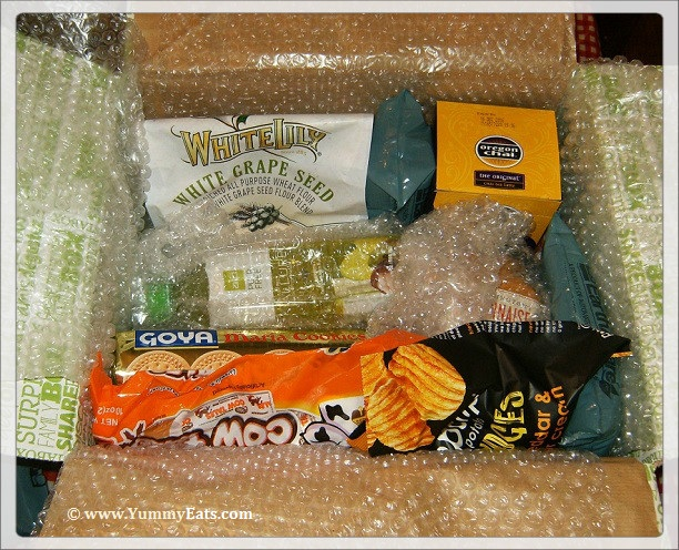 USA Degustabox unboxing for August 2016 subscription food box