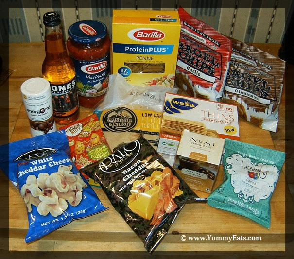 Foods in the October 2016 Degustabox Surprise Box
