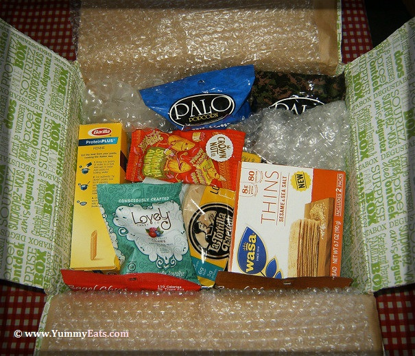 Degustabox Product Reveal for October 2016 Surprise Food Box