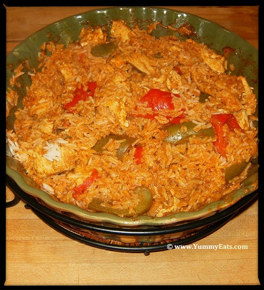 Chicken Tikka Biryani, a recipe using Sharwood's Tikka Masala Cooking Sauce.