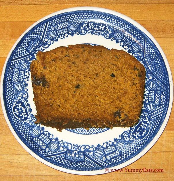 Pumpkin Bread sliced - homemade, easy recipe.