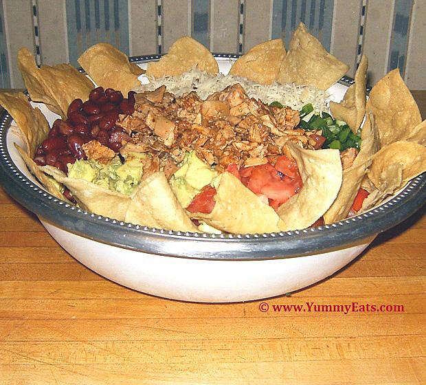 Chicken Taco Salad Recipe A Big Mexican Salad